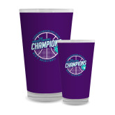 Full Color Glass 17oz-Suncoast Mens Basketball Champions