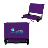 Stadium Chair Purple-Florida SW Buccaneers