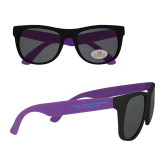 Purple Sunglasses-Florida SouthWestern State College Flat