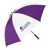 64 Inch Purple/White Umbrella-Florida SW Buccaneers