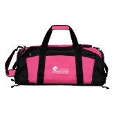 Tropical Pink Gym Bag-Primary Logo