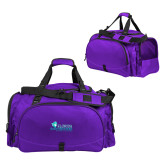 Challenger Team Purple Sport Bag-Primary Logo