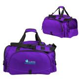 Challenger Team Purple Sport Bag-Primary Logo