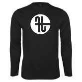 Performance Black Longsleeve Shirt-Identity Mark