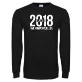 Black Long Sleeve T Shirt-Class of 2018