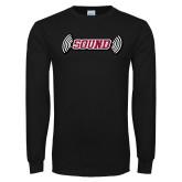 Black Long Sleeve T Shirt-Sound