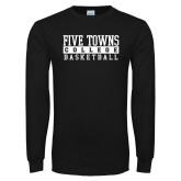 Black Long Sleeve T Shirt-Enter Logo Name