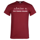 Cardinal T Shirt-Five Towns College Bars