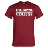 Cardinal T Shirt-Five Towns College Stacked