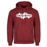 Cardinal Fleece Hoodie-Five Towns College Waves