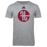Adidas Sport Grey Logo T Shirt-Identity Mark