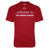 Under Armour Cardinal Tech Tee-Five Towns College Bars
