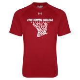 Under Armour Cardinal Tech Tee-Basketball