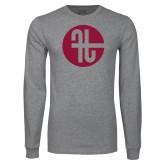 Grey Long Sleeve T Shirt-Identity Mark