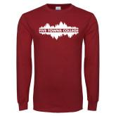 Cardinal Long Sleeve T Shirt-Five Towns College Waves