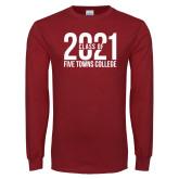 Cardinal Long Sleeve T Shirt-Class of 2021