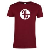 Ladies Cardinal T Shirt-Identity Mark