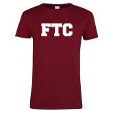 Ladies Cardinal T Shirt-FTC