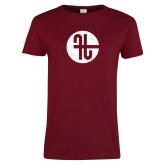 Ladies Cardinal T Shirt-Identity Mark Distressed
