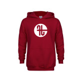 Youth Cardinal Fleece Hoodie-Identity Mark