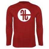 Performance Cardinal Longsleeve Shirt-Identity Mark