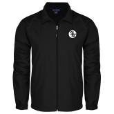 Full Zip Black Wind Jacket-Identity Mark
