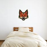 3 ft x 3 ft Fan WallSkinz-Mascot Head