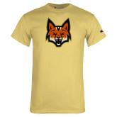 Champion Vegas Gold T Shirt-Mascot Head