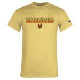 Champion Vegas Gold T Shirt-Stacked Bar