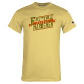 Champion Vegas Gold T Shirt-Hockey Ribbon