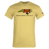 Champion Vegas Gold T Shirt-Mascot in State