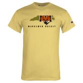 Champion Vegas Gold T Shirt-Mascot in State