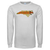 White Long Sleeve T Shirt-Leave Your Mark in State