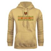Champion Vegas Gold Fleece Hoodie-Stacked Cut Through Design