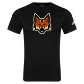 Adidas Black Logo T Shirt-Mascot Head