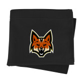 Black Sweatshirt Blanket-Mascot Head
