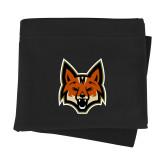 Black Sweatshirt Blanket-Mascot Head