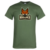 Military Green T Shirt-Primary Mark