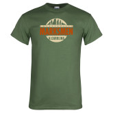Military Green T Shirt-Cityscape