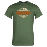 Military Green T Shirt-Cityscape