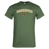 Military Green T Shirt-Arched Designs