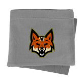 Grey Sweatshirt Blanket-Mascot Head