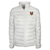 Columbia Lake 22 Ladies White Jacket-Mascot Head