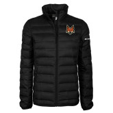 Columbia Lake 22 Ladies Black Jacket-Mascot Head