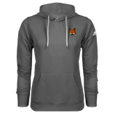 Adidas Climawarm Charcoal Team Issue Hoodie-Mascot Head