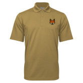Vegas Gold Mini Stripe Polo-Mascot Head
