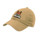 Vegas Gold Twill Unstructured Low Profile Hat-Primary Mark