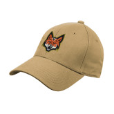 Vegas Gold Heavyweight Twill Pro Style Hat-Mascot Head