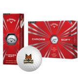 Callaway Chrome Soft Golf Balls 12/pkg-Primary Mark