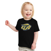 Toddler Black T Shirt-GU Bison